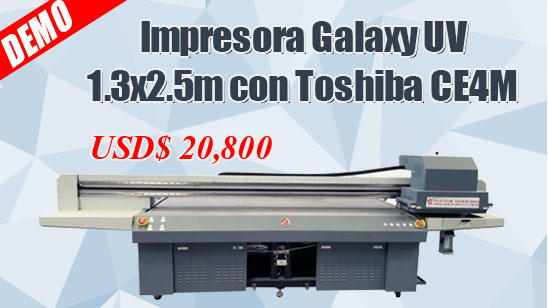 1.8m Hybrid UV Inkjet Printer
