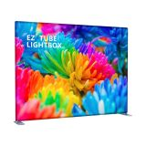 10ft EZ Tube Lightbox with Single Sided Graphic