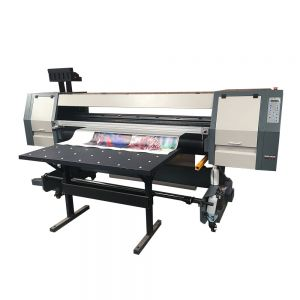 1.8m Flatbed and Roll to Roll UV Inkjet Printer With Epson XP600/DX7/DX5 Printheads