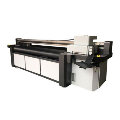 3.2m Flatbed and Roll to Roll UV Inkjet Printer With Ricoh Gen5 head